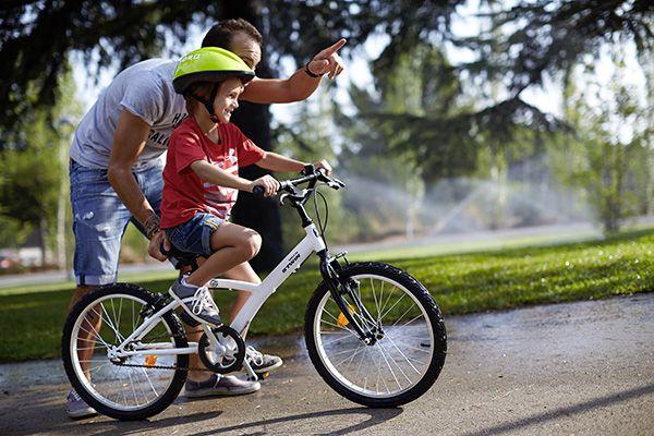 Conseil Brame Sports - Apprendre à un enfant à faire du vélo