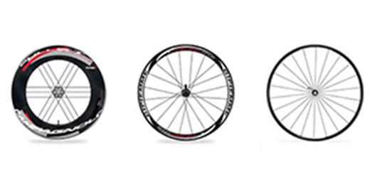 Les roues influencent le comportement du vélo de route