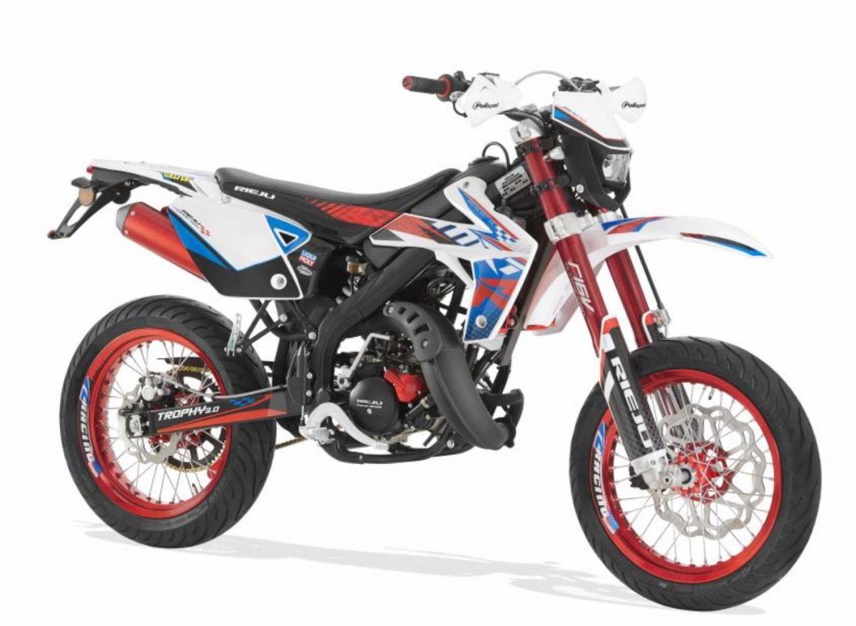 Brand New AJS JSM 50 Super Moto 50cc Motorcycle Moped