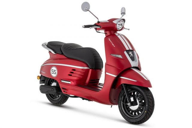 Brame Sports - 50cc PEUGEOT Django Red 50cc