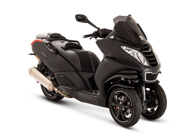 Brame Sports - 125cc / 3 roues PEUGEOT Metropolis Black Edition 13' ABS